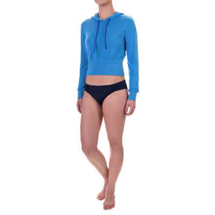 TYR Santorini Offshore Swimsuit Cover-Up Hoodie (For Women) in Blue - Closeouts