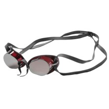 TYR Socket Rockets 2.0 Metallic Goggles (For Men and Women) in Red/Silver - Closeouts