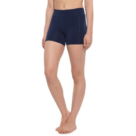 66f1a00887 TYR Solid Kalani Swim Shorts - UPF 50+ (For Women) in Navy -