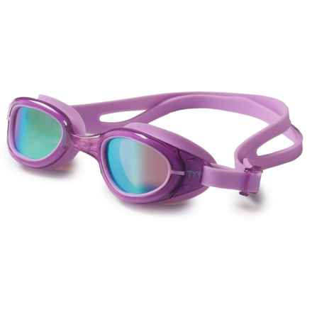 TYR Special Ops 2.0 Swim Goggles - Polarized (For Big Kids) in Rainbow/Purple - Closeouts
