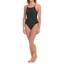 TYR Studs Crosscutfit One-Piece Swimsuit (For Women) in Multi - Closeouts