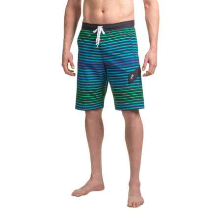 TYR Sunset Stripe Springdale Boardshorts (For Men) in Blue - Closeouts