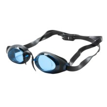 TYR Swedish Lo Pro Goggles (For Men and Women) in Blue - Closeouts