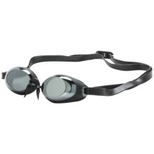 TYR Swedish Lo Pro Mirror Goggles (For Men and Women) in Smoke - Closeouts
