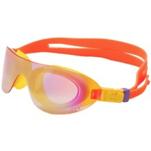 TYR Swim Shades Mirrored Goggles (For Men and Women) in Orange - Closeouts