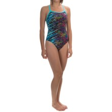 TYR Synergy Diamondfit Swimsuit - UPF 50+ (For Women) in Multi - Closeouts