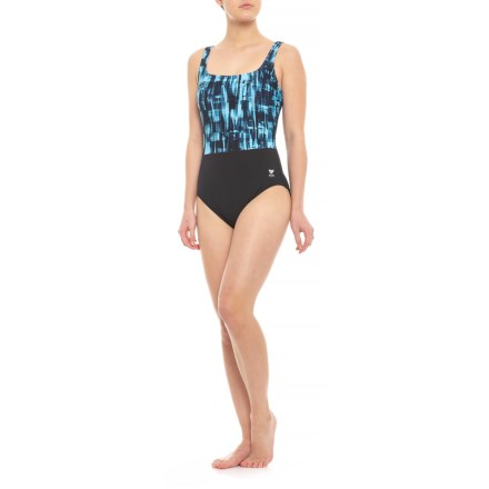 993349b1e3a43 TYR Tremiti Controlfit Plus One-Piece Swimsuit - Padded Cups