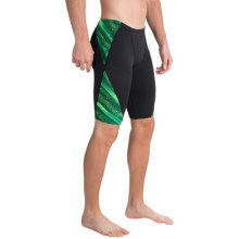 TYR Venom Blade Splice Jammer Swimsuit - UPF 50+(For Men) in Green - Closeouts