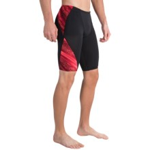 TYR Venom Blade Splice Jammer Swimsuit - UPF 50+(For Men) in Red - Closeouts