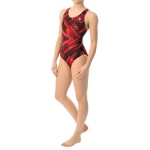 TYR Zenith Maxfit Swimsuit - UPF 50+ (For Women) in Red - Closeouts