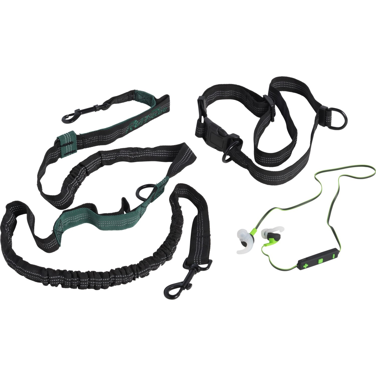 Tzumi Pets Secure Hands-Free Running Leash with Wireless