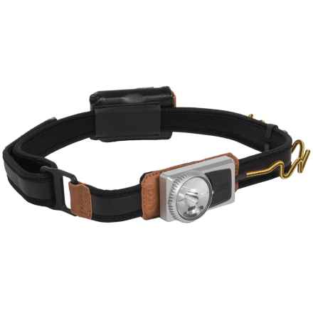 UCO Comfort Fit Headlamp - 120 Lumens in Black/Tan - Closeouts