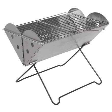 UCO Flatpack Portable Grill & Firepit in Stainless Steel - Closeouts