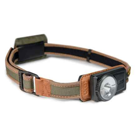 UCO Gear UCO Comfort Fit Headlamp - 120 Lumens in Green - Closeouts