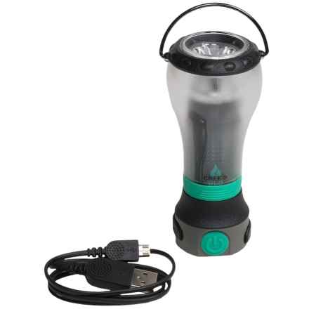 UCO Gear UCO Tetra USB Charger + Lantern + Flashlight - 170 Lumens, Rechargeable in Green - Closeouts