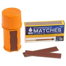 UCO Stormproof Match Kit - 100 Matches, Waterproof Case in See Photo - Closeouts
