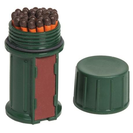 UCO Stormproof Match Kit in Dark Green