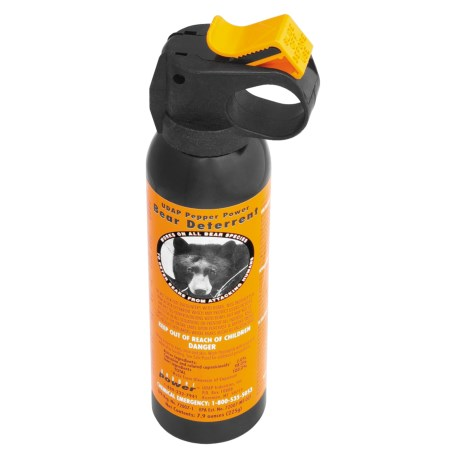 UDAP 7.9 oz. Bear Spray with Hip Holster