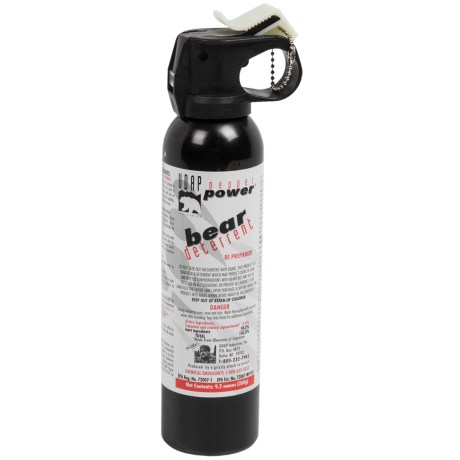 UDAP Magnum Bear Spray Chest Holster, 9.2 fl. oz.