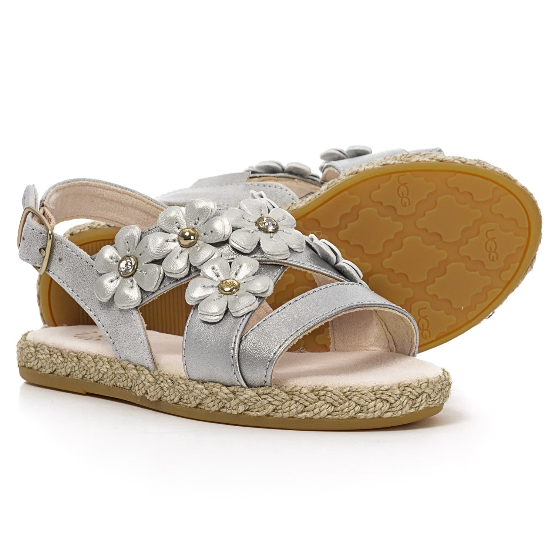 f95364fd891 UGG® Australia Allairey Shimmer Sandals (For Toddler Girls)