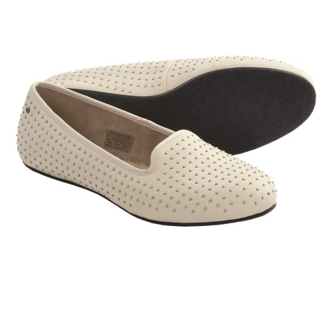 UGG® Australia Alloway Studded Shoes (For Women) in Cream