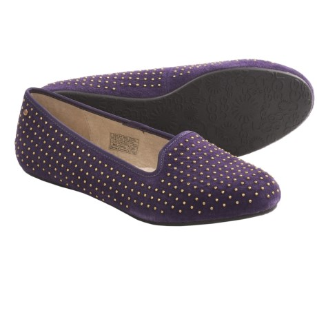 UGG® Australia Alloway Studded Shoes (For Women) in Purple Velvet