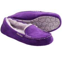 UGG® Australia Ansley Suede Moccasins (For Women) in Royal Grape/Heathered Lilac - Closeouts