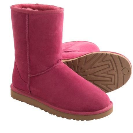 UGG® Australia Classic Short Boots - Sheepskin (For Women) in Tropical Sunset