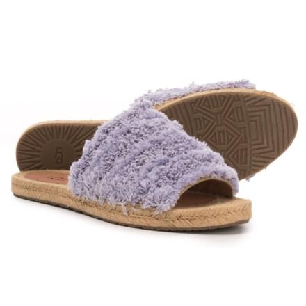 55c51834690 UGG® Australia Edith Slide Sandals (For Women) in Lavender Fog - Closeouts