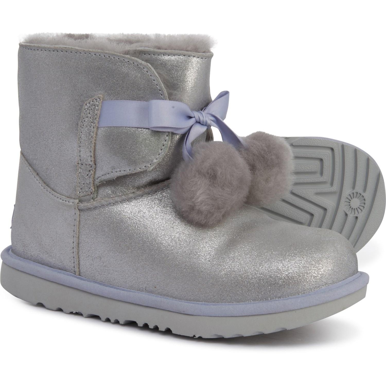 2d79448e203 UGG® Australia Gita Metallic Leather Boots (For Girls)