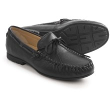 UGG® Australia Hendricks Moccasins - Leather (For Men) in Black - Closeouts