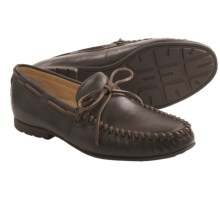 UGG® Australia Hendricks Moccasins - Leather (For Men) in Grizzly - Closeouts