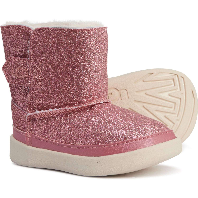 ugg pink sparkle keelan boots