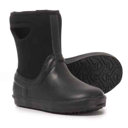 UGG® Australia Kex Rain Boots (For Toddler Girls) in Black - Closeouts