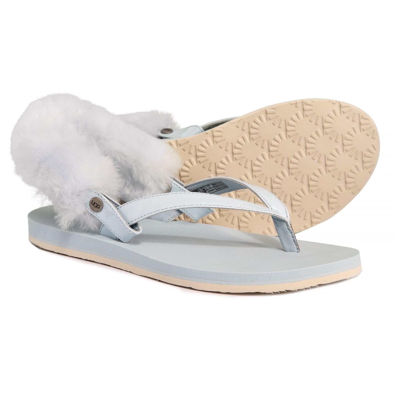 e1c1a8e1480 UGG® Australia Laalaa Flip-Flops - Leather (For Women)