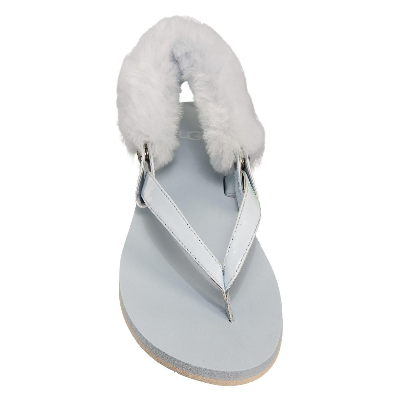 0526924babb UGG® Australia Laalaa Flip-Flops - Leather (For Women)