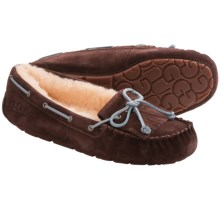 UGG® Australia Mandie Moccasin Slippers - Sheepskin (For Women) in Stout - Closeouts