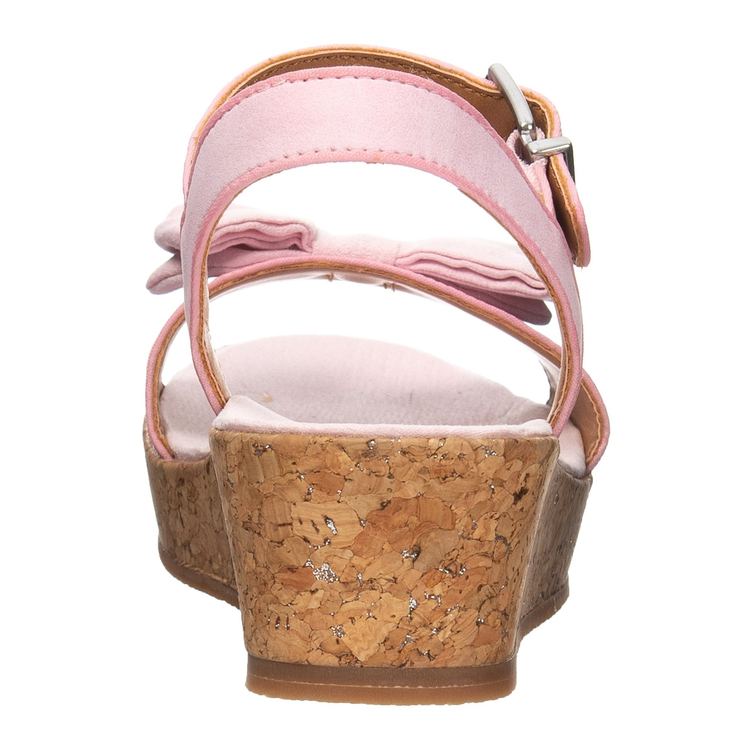 87f814d760123 UGG® Australia Milley Bow Wedge Sandals (For Girls)