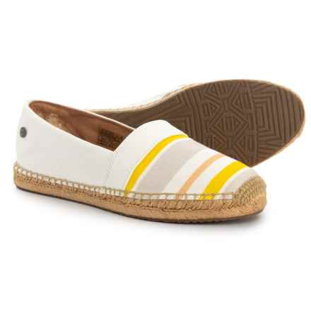 UGG® Australia Renada Stripe Espadrilles (For Women) in White