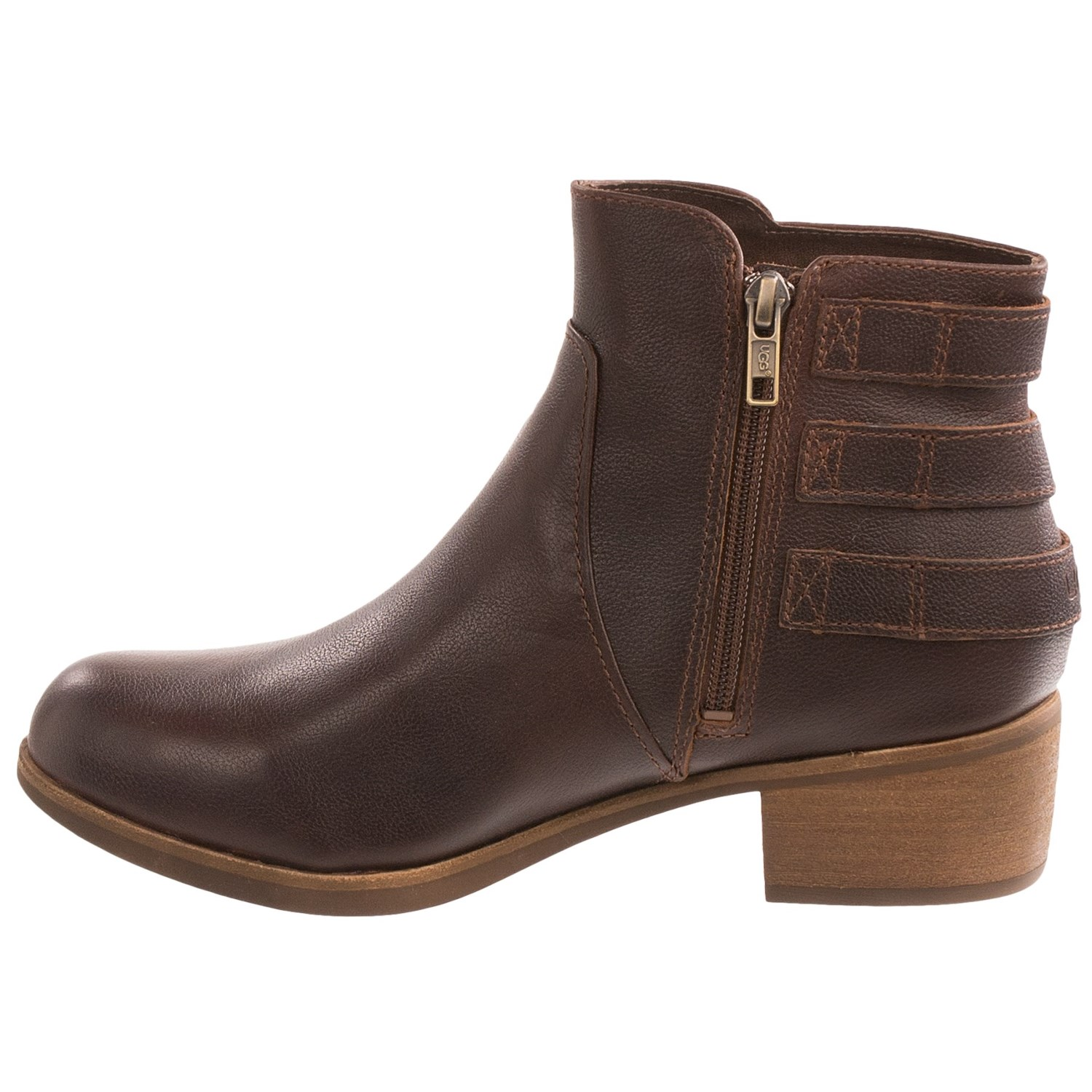 ugg australia volta leather ankle boots