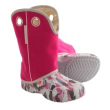 Ugly Kracomukers Multicolor Rain Boots - Waterproof (For Big Girls) in Pin Camo/Pink - Closeouts