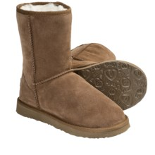 Ukala by Emu Sydney Low Boots - Merino Wool-Lined, Suede (For Women) in Chestnut - Closeouts