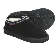 Ukala by Emu Violet Slippers (For Boys and Girls) in Black - Closeouts