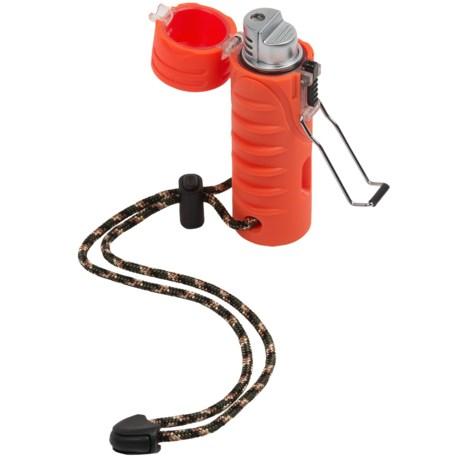 Ultimate Survival Technologies Trekker Stormproof Lighter in Orange