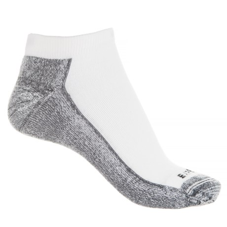 Ultra Performance Protred Athletic Socks - Below the Ankle (For Women) in White/Black
