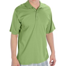 UltraClub Egyptian Breeze Polo Shirt - Short Sleeve (For Men) in Apple - Closeouts