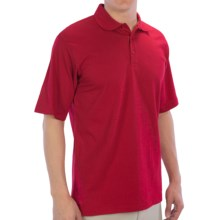 UltraClub Egyptian Breeze Polo Shirt - Short Sleeve (For Men) in Red - Closeouts