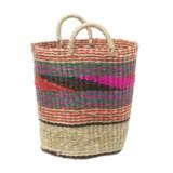 "UMA Mosaic Seagrass Storage Basket - 15"""