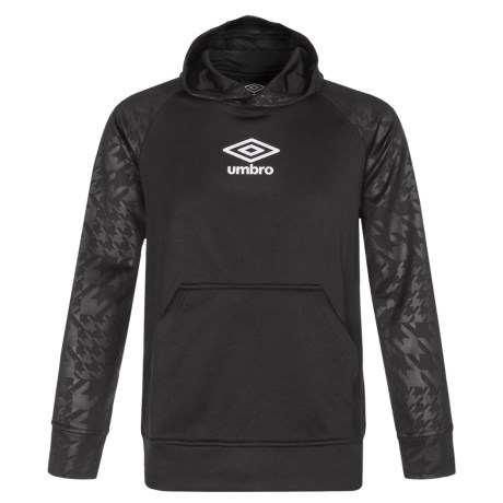 Umbro 3D HD High-Performance Hoodie (For Big Boys) in Umbro Black