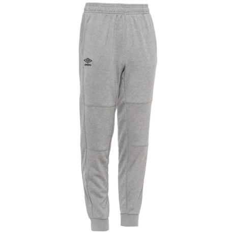 Umbro Basic Joggers (For Big Boys) in Medium Grey Heather/Black